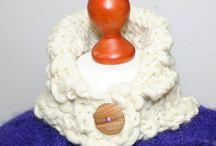 Schals, Cowls, Tücher und warme Schultern / Warme Schals, Tücher und allerlei Schulterwärmer aus weichen Garnen gestrickt