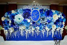 flower walls backdrops