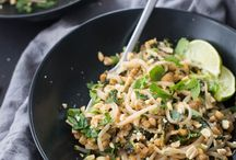 Asian Dishes / Healthy and delicious Asian recipes for Thai food, Korean food, Vietnamese, Japanese, and Chinese dishes. Chicken, noodle, soup, and other ingredients included