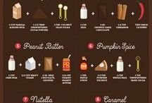 Hot drink recipes☕️