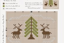 Cross stitch  (christmas time)