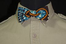 Fall/Winter 2014 Collection / Tied Up's Fall & Winter Bowtie Collection of pre-tied bowties made with African cotton textiles.
