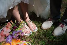 Wedding Shoes / Need some inspiration for wedding day shoes? Get some style ideas from these real weddings.