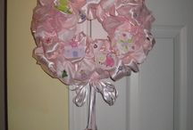 Welcome Home Baby! / Handmade personalized wreaths and other items to welcome your baby at the hospital and home.