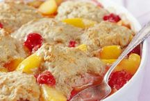 Food - Bread Pudding & Cobbler