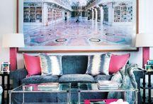 Living Rooms/Foyers/Hallways / by Elizabeth S. Warren
