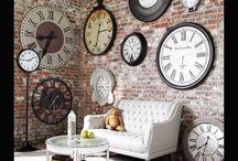 horloge salle à manger