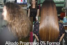 Estilista Claudia Sparta  ALISADOS / Alisados Progresivos, Antes y después