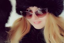 Lanvin sunglasses / Lanvin sunglasses ,Ralph Lauren fur coat