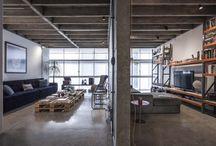 Contemporary apartments