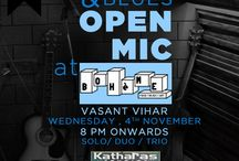 Open Mic at Boheme! / Presenting the Open Mic session at Boheme! A wonderful Blues/Rock Acoustic set performed by various artists!