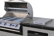 The Best in BBQ Islands / 	 There's nothing like having a barbecue in the backyard in the summertime and these BBQ islands from Cal Flame will blend beauty with function. Here is a selection of islands that we can order for you.