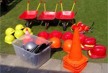 Activiteiten / Concrete activiteiten, bezigheden en spelletjes voor binnen en buiten tijdens de tussenschoolse opvang op de basisschool.