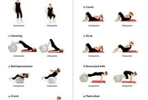 Beauty & Health: Gym Ball Exercises / by Penelope Melko