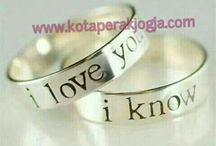 cincin couple swalayanperakgroup / www.swalayanperak.com   www.kotaperakjogja.com
