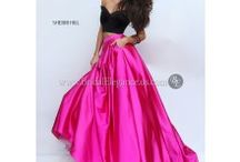 Pink Prom Dresses / Shop Pink Prom Dresses in a huge variety of pink colors including blush, hot pink, neon pink, strawberry, bright pink, hot pink, dark pink, fuchsia, dark fuchsia, light pink, baby pink, barbie pink, coral, cotton candy, pale pink, and plain pink.