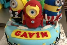 Birthday cakes for my Boy