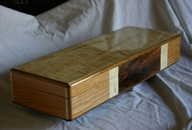 Custom Made Wood Boxes / Woodworking / Custom made poker chip boxes, coin boxes, and other woodworking.