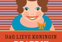 Themafeest: Koningsdag / Nederland viert sinds 2013 Koningsdag ipv Koninginnedag! Het blijft natuurlijk een dag met een oranje randje - en heel veel leuke knutsels, traktaties etc.