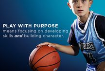 Play With Purpose / Play with Purpose embodies everything that we want to accomplish in developing young athletes mentally, athletically, spiritually, and socially. #youthsports #playwithpurpose