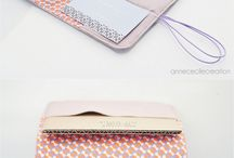 maroquinerie rose   pink leather wallet