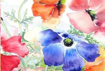 Watercolour / Tutorials and Projects