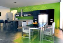 Modern Interiors - 3D VIZ / Interior 3D renders