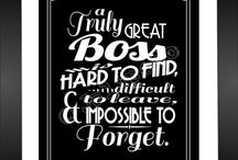 Boss gift / by Claire Hutchins