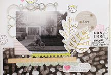 Traditional scrapbook layouts 2015
