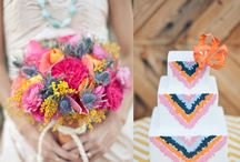 Wedding: Colorful / Inspiration board for a wedding filled with color