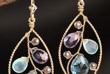 Metalwork - Wire earrings