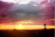 My sunsets / Sunsets from my mountain side / by Marlene Quigley