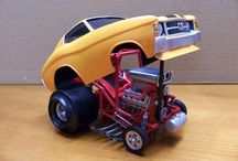 Vintage hotrod toy