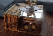 sofabord æblekasser
