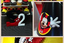 Mickey and Minnie Mouse / simple and elegant ideas for a Mickey or Minnie Mouse Birthday Party www.Trendyfunparty.com Atlanta GA