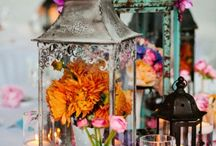 """Eclectic Elegance / Couples are combining different unique elements of popular wedding themes and still maintaining a cohesive vision. From unifying colors and patterns to meshing contemporary and vintage details, accomplishing the """"eclectic elegance"""" is not only possible, but it's extremely fun!"""