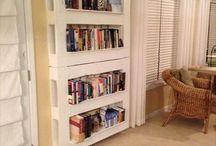 pallet book shelves