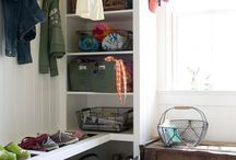 Rooms and decorations / Anything from paint color to blankets to doors to shelves.  / by Maggie Full Settle