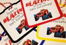 blaze and the monster machines birthday
