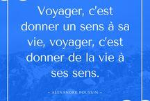 Citations inspirantes / citations voyage
