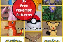 pokemon crochet patterns.
