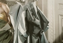 """Charles James / Charles James (American, born Great Britain, 1906–1978).  """"His name represents a standard of perfection."""" —The Glamourai on """"Charles James: Beyond Fashion.""""  """"A show of cleverly engineered sculptures."""" —David Byrne on """"Charles James: Beyond Fashion."""""""