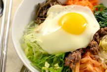 Korean Food / This is my comfort food...living in Korea as a little girl and being half Korean--it's culture, customs, and food is a HUGE part of who I am. / by Jeannie St Amour