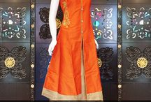 Exclusive Designer Pure Silk Indo-Western Suits Collection