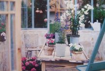 Potting Shed Ideas / The Cedarshed Gardener's Delight makes a distinguished potting house or small greenhouse. It's magical having a potting shed deep in the garden. Visit us: Cedarshed.com