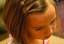 Hair Girls Kids Short