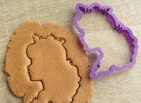 """Lubimova """"Order design"""" / Lubimova cookie cutters"""