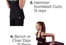 Workout / Trening & velvære