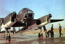 WW2 aircraft in real color