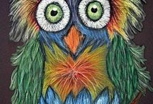 Crafting with kids, Owls